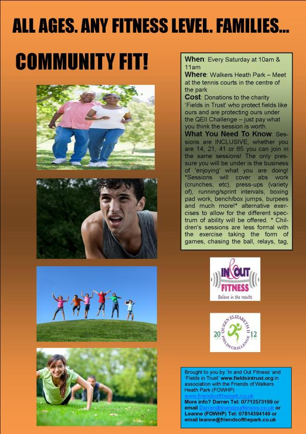 Community Fit Poster