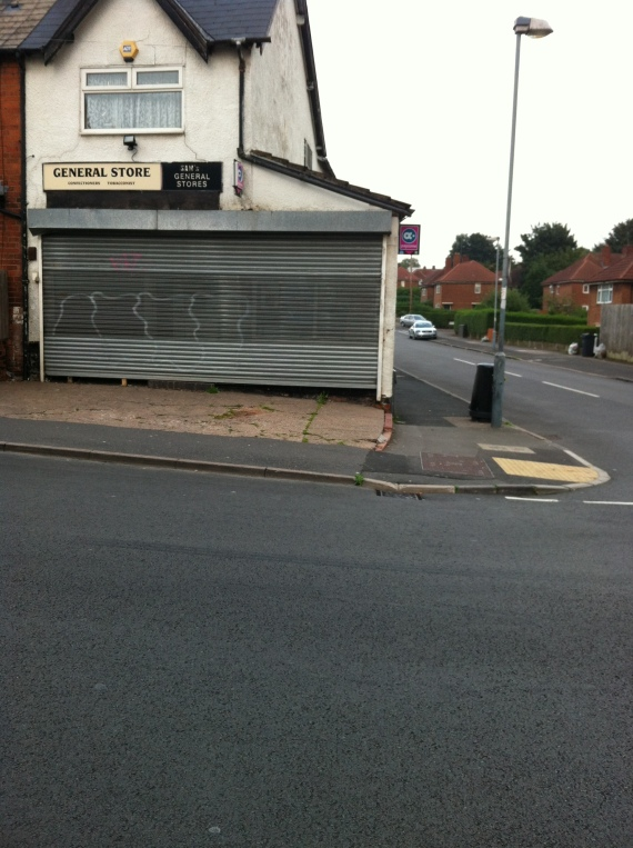Kings road shop shut