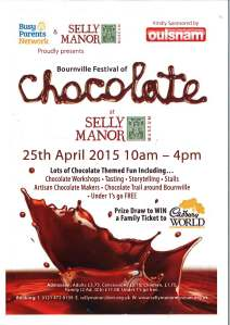 Bournville Festival of Chocolate Poster